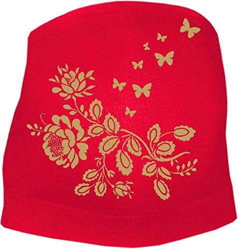 KLEINER FRATZ - Ceinture de grossesse spécial grossesse - Slogan - Femme - rouge - 36
