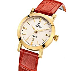 Simple casual watches/Waterproof quartz watches/Ladies fashion watches-A