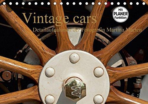 3/3 Trittbrett (Vintage cars (Tischkalender 2018 DIN A5 quer): Detailaufnahmen der Fotografin Martina Marten (Geburtstagskalender, 14 Seiten ) (CALVENDO Mobilitaet) [Kalender] [Apr 01, 2017] Marten, Martina)