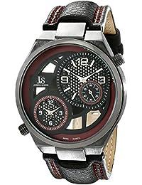Joshua & Sons Reloj con movimiento cuarzo suizo Man  48 mm