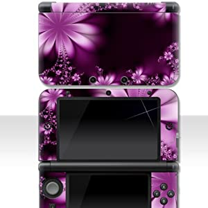 "Nintendo 3DS XL Skin "" MYSTERIOUS FLOWER "" Aufkleber Sticker Folie Schutzfolie"