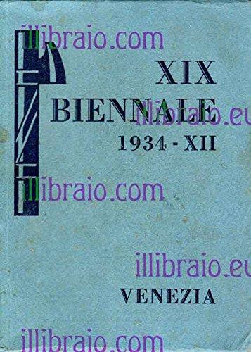 XIX esposizione della Biennale di Venezia