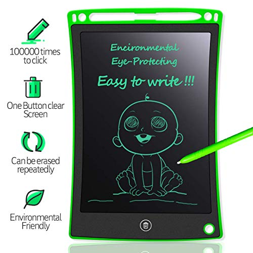 """Magicwand 10"""" Inch Portable Paperless Digital Ruff Pad,E-Writer Tablet with Lock (Pack of 1)"""