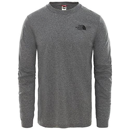 The North Face, T93L3B, T-shirt a Maniche Lunghe, Uomo