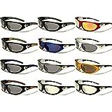 New X-Loop ® SOLO Unisex Sport Wrap Sunglasses UV400 100% Protection