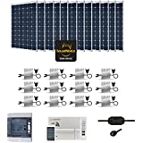 Kit Solar 3600W autoconsommation enphase–Plug & Play