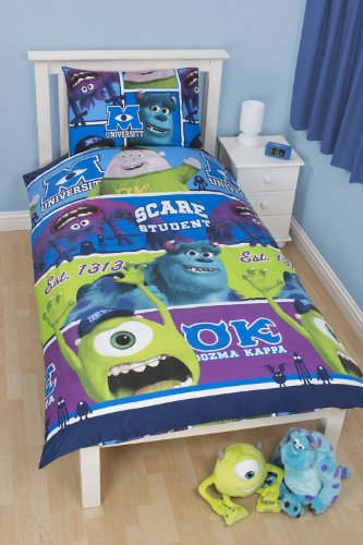 Character world disney monsters university completo letto - Piumini da letto ...