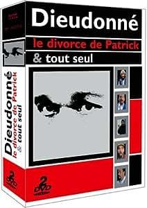 Coffret Dieudonné 2 DVD : Le Divorce de Patrick / Tout seul