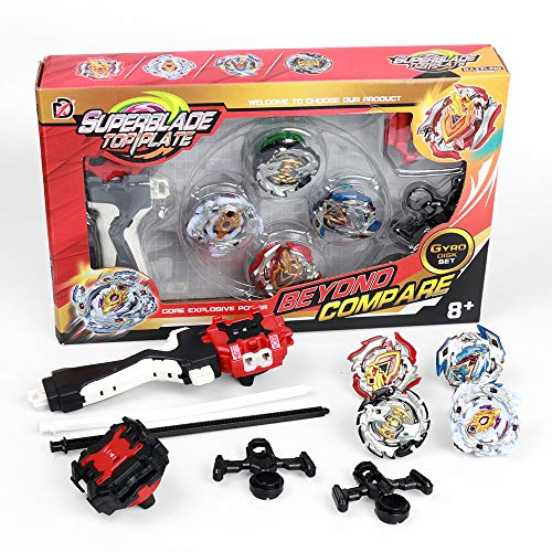 infinitoo Toupie Burst 4pcs Set avec...