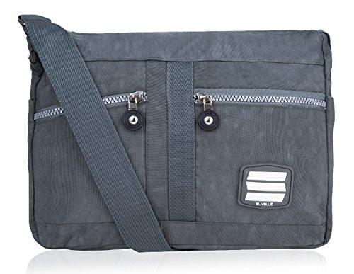 Suvelle Lunch Travel Crossbody Bag, Everyday Shoulder Organizer Purse # 1951 (E/w-cross-body-organizer)