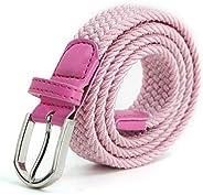 AnJuHoPa Cinturilla elástica Para niños Cintura Elástica para niñas niños, Cinturón de Goma Multicolor para mu