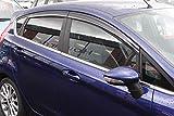 Autoclover Wind Deflectors Set for Ford Fiesta MK7 2009-2017 5 Door Hatchback (4 pieces)