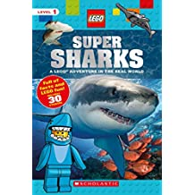 Super Sharks: A Lego Adventure in the Real World (Lego Nonfiction)