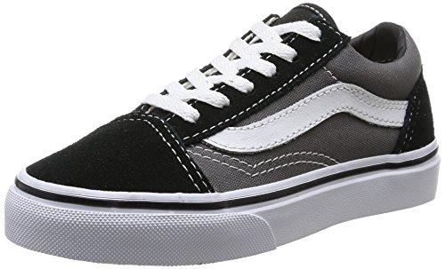 Vans OLD SKOOL, Unisex-Kinder Sneakers, Mehrfarbig (BLK/PEWTER G4B), 33 EU
