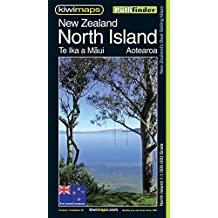 Carte routière : New Zealand - North Island