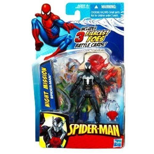 Hasbro Spiderman Action Figures 9 cm Venom with Attack Symbiosis - Figure articulated with accessories and 3 Trading Cards