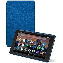 Amazon - Funda para Fire HD 8 (tablet de 8 pulgadas, 7ª generación, modelo de 2017), Añil