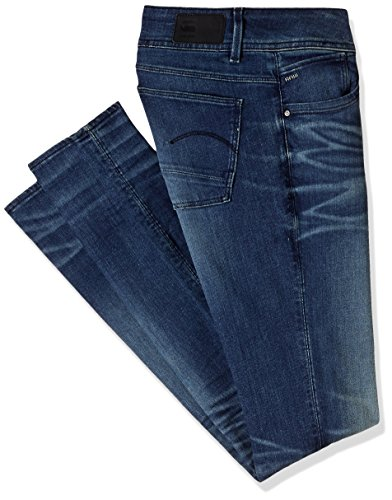 G-STAR - Lynn Mid Skinny Wmn - frakto superstretch, Jeans  da donna, Blue (Medium Aged 6550), W27/L32