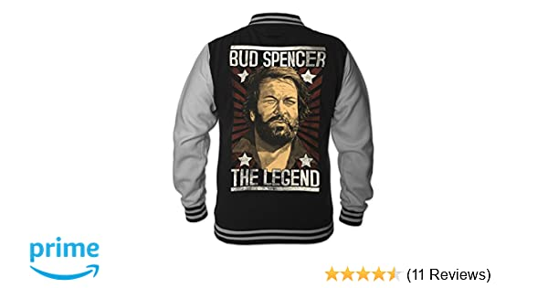 Bud Spencer Herren Legend College Jacket (schwarz)  Amazon.de  Bekleidung fdda0dcb89