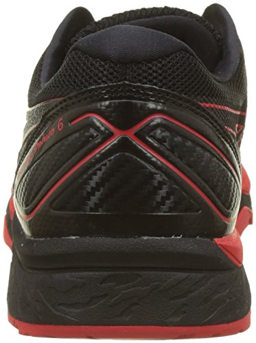 Asics Herren Gel-Fujitrabuco 6 Traillaufschuhe Mehrfarbig (Blackfiery Re D Black)