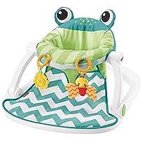 EWORLD® Fisher-Price Sit-Me-Up Floor Seat - Citrus Frog