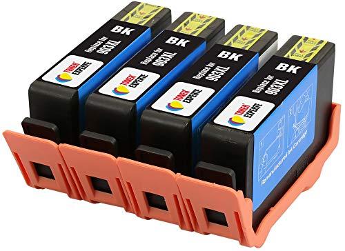 TONER EXPERTE 4 XL Nero Cartucce d'inchiostro compatibili con HP 903XL T6M15AE per Stampanti HP Officejet Pro 6950, 6960, 6970, 6975 | Alta Capacità