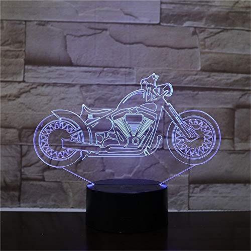 Motocicleta eléctrica modelado automóviles luces