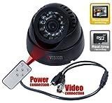 #9: ZVision CCTV Dome 24 IR Night Vision Camera DVR with Memory Card Slot Recording (BNC)