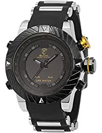 Shark SH168+ZC155 - Reloj para hombres, correa de silicona