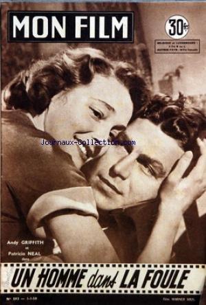 MON FILM [No 593] du 01/01/1958 - UN HOMME DANS