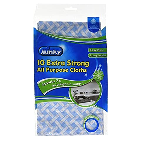 Minky 10 Extra Strong All Purpose Cloths