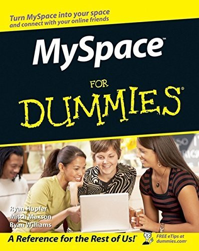 myspace-for-dummies-by-ryan-hupfer-2007-01-10