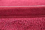 Kuscheldecke Fleece-Decke Wolldecke Tagesdecke Wohndecke Plaid Sofa Rot 220x240cm   mit Antipilling Effekt   Antistatisch   Exklusive Verarbeitung - Doppelt umsäumte Naht