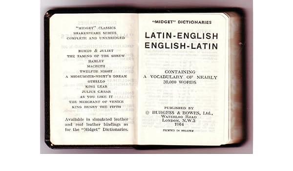 latin for midget