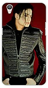 Crazy Beta Michael jackson american singer and actor Printed mobile back cover case for Oppo F1 Plus