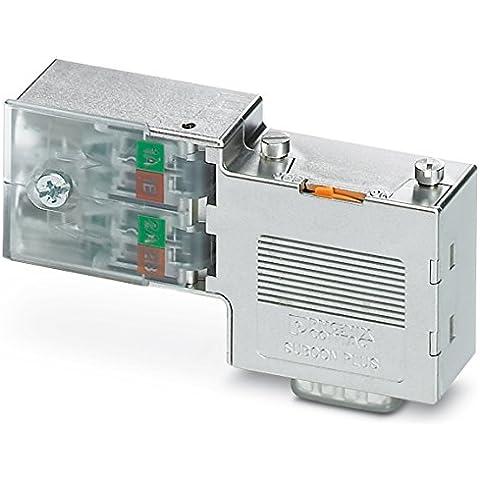 Phoenix contact 2313672 - D-sub connettore bus subcon-plus profib /