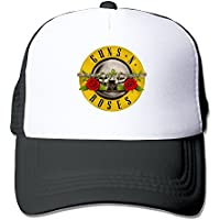 huseki Guns N 'Roses Bullet Distressed Rock Sports Malla Tiene Black
