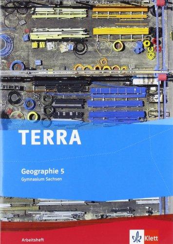 Preisvergleich Produktbild TERRA Geographie für Sachsen - Ausgabe für Gymnasien / Arbeitsheft 5. Klasse