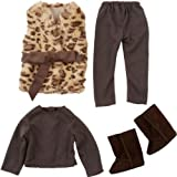 Cool Chad-Valley DesignaFriend Fur Waistcoat Outfit with accompanying HSB Storage Bag