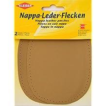 Kleiber - Coderas y rodilleras de cuero napa, para coserlas, 12,5 cm