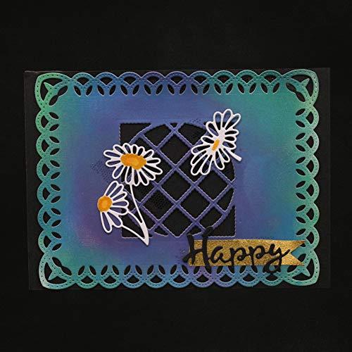 Ode_joy fai da te cuore metallo taglio muore stencil fai da te album scrapbooking carta di carta-fustelle forma fiore taglio carta passatempo decorazione goffratura forniture sala pranzo e bar