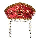 """Ruso tradicional folk disfraz Headdress Kokoshnik """"Alina"""" rojo"""