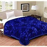 Blanket Double Bed (shopit Korean Mink Double Bed King Size Blanket For Winter) (Purple)