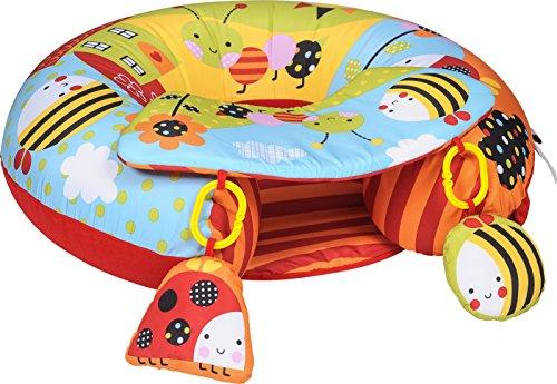 Red Kite - Cuscino avvolgente Sit Me Up, imbottito, provvisto di seduta e giochi per facilitare l'apprendimento, ideale per lo sviluppo della coordinazione nei bebè