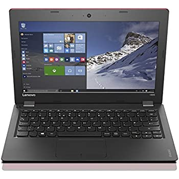 "Lenovo Ideapad 100S-11IBY Ordinateur Portable 11,6"" Rouge  (Intel Atom-Z3735F, 2 Go de RAM, SSD 32 Go, Windows 10)"