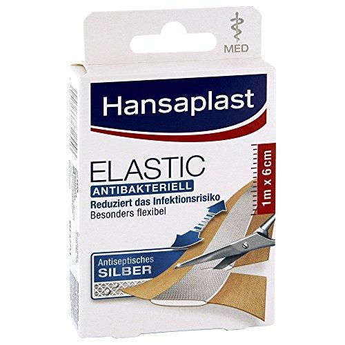 HANSAPLAST med elastic 6 cmx1 m Abschnitte 10 St Streifen