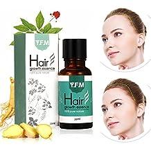 Aceite para Crecimiento del Cabello, Pelo Crecimiento Esencia, Hair Growth Essence 100% Pure