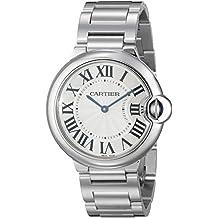Cartier W69011Z4 Cartier Ballon Bleu medianas inoxidable reloj de acero W69011Z4
