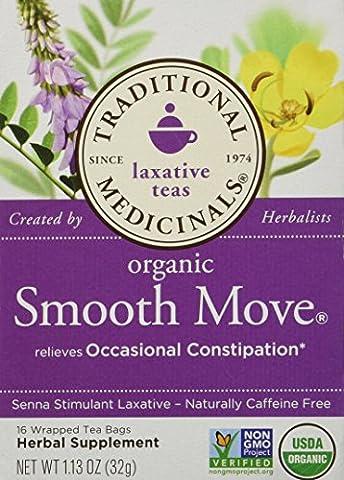 Traditional Medicinals - Boite de 16 Sachets de Thé - Traditional Blends Tea's-Smooth Move