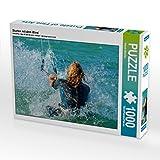 CALVENDO Puzzle Starten mit Dem Wind 1000 Teile Lege-Größe 64 x 48 cm Foto-Puzzle Bild von Renate Bleicher